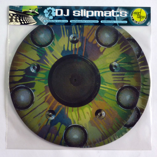 Drip Camo speakers premium DJ slipmats