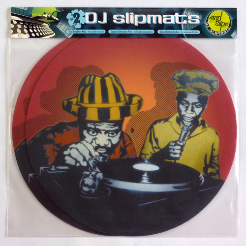 Reggae Soundsystem themed DJ slipmats