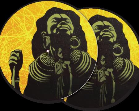 DJ Slipmats african queen