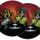 reggae dub soundsystem DJ slipmat